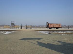 Auschwitz-Birkenau im Januar 2012